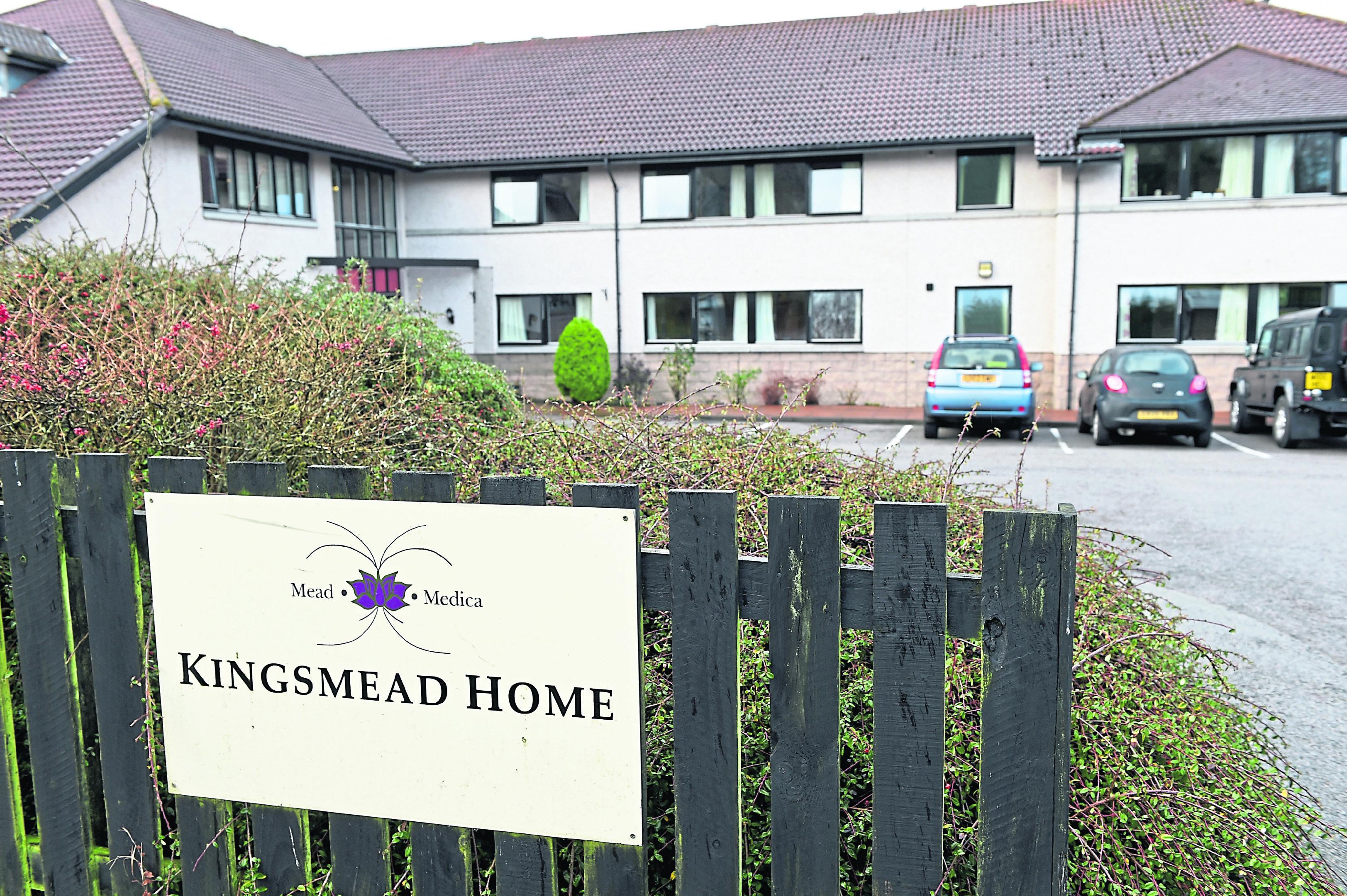 Kingsmead Care Home in Kingswells.