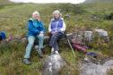 Janet Whittington, left, and Marylynn Burbridge, right, are celebrating 14 years of friendship