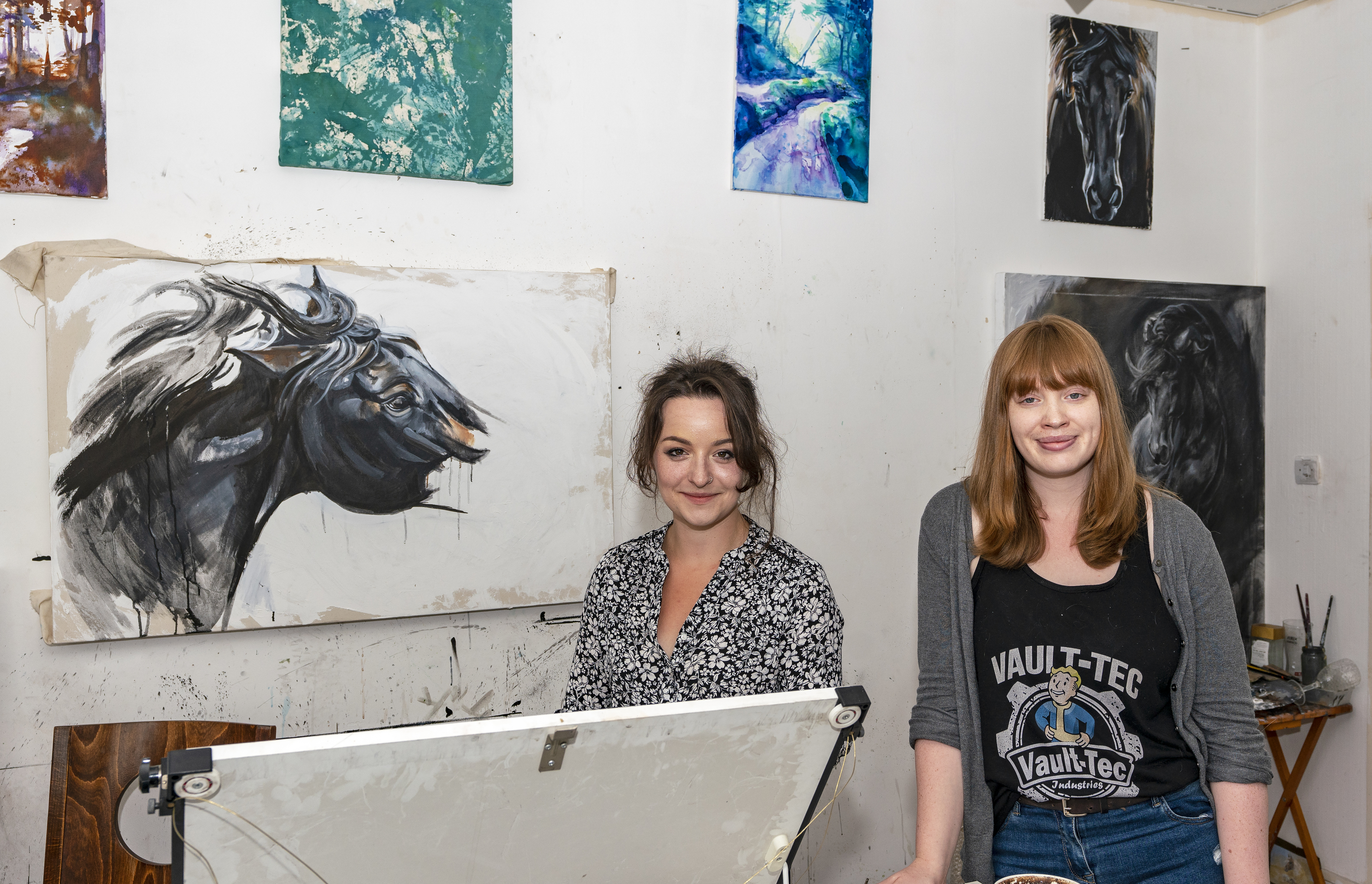 Charlie Fitzgerald and Rachael Horsburgh of MC3 Creative Spaces.