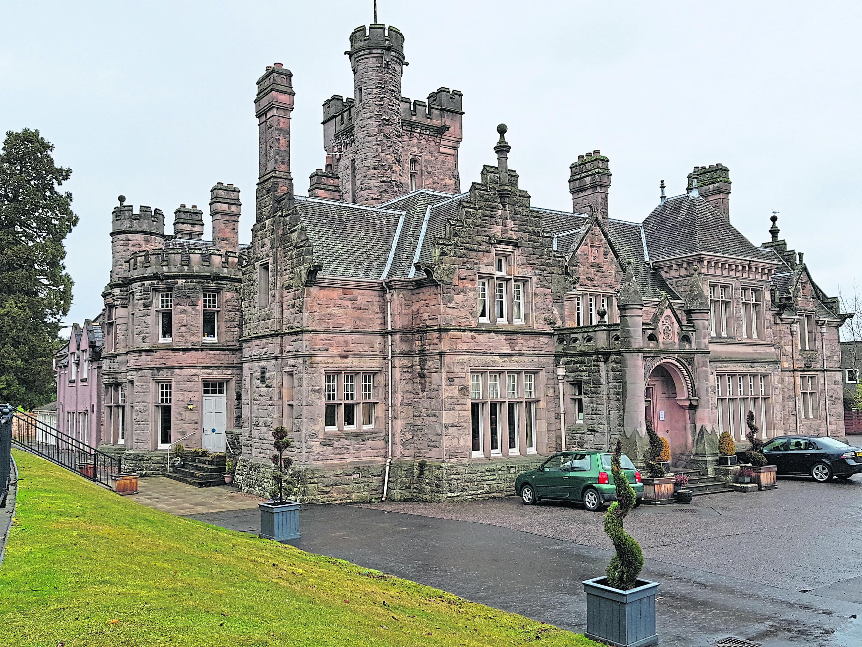 Mansion House Hotel, Elgin.