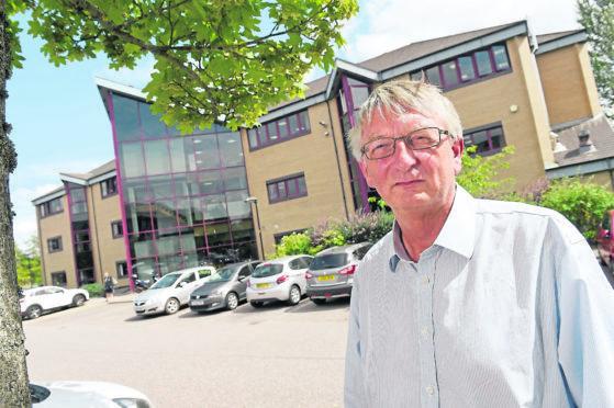 David Alston, former chairman of NHS Highland.