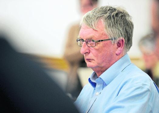David Alston, chairman of NHS Highland.