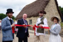 Pictured is Ivor Crowther from Heritage Lottery Fund and Beamish Director Richard Evans