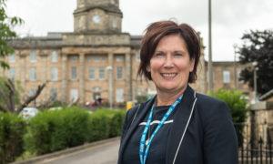 Amanda Croft, chief executive of NHS Grampian