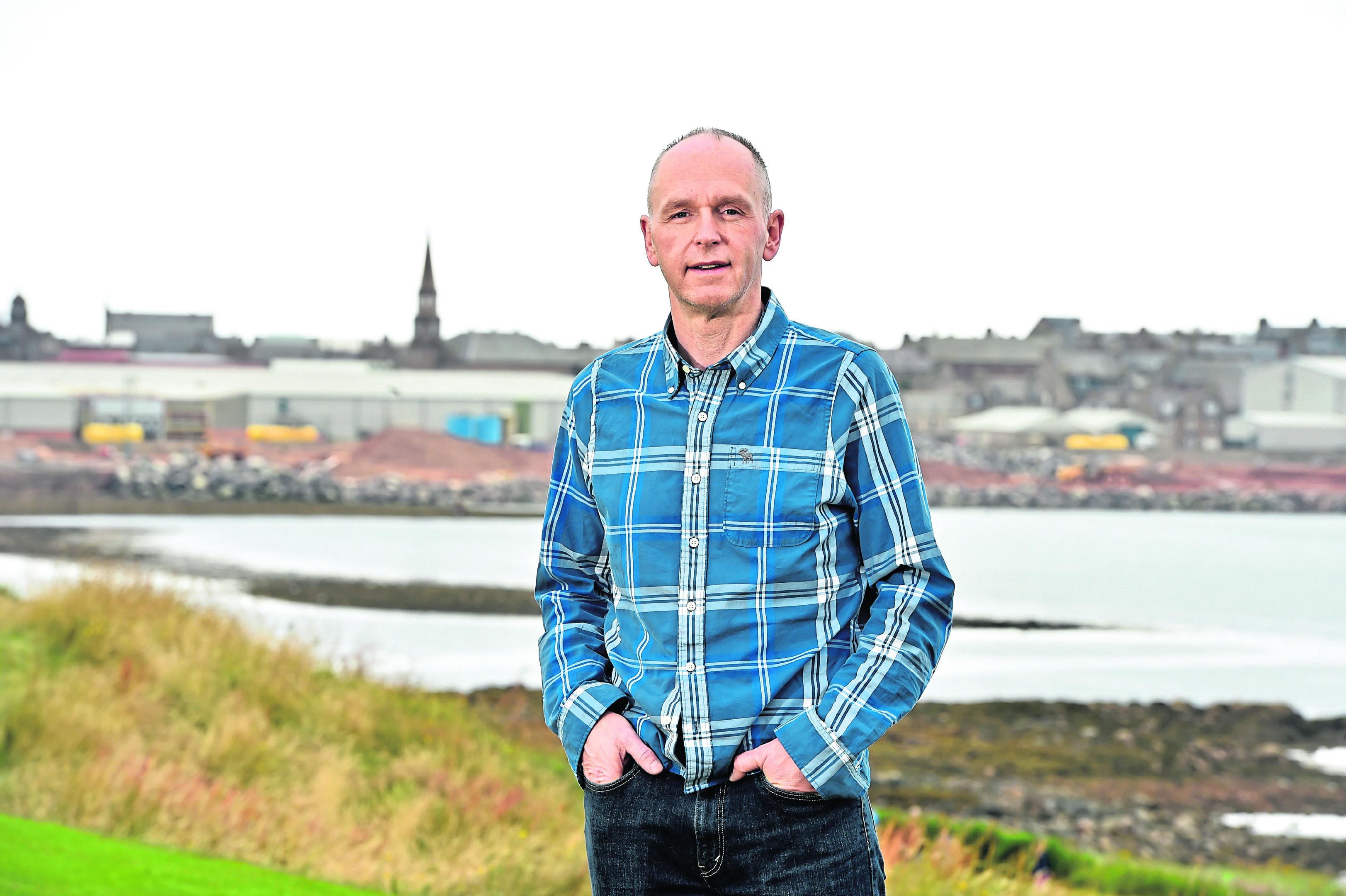 Graham Barron is the event treasurer of Peterhead Scottish Week.