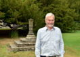 Alan Cameron, board member of the Ellon Gardens Castle Trust who have just been awarded funding by the Mushroom Trust to pay for the restoration of two 17th century sundials