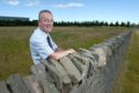 Ruaraidh Macneil, HIE's Inverness Campus director on the site the proposed new 'Centre for Health Science 2' on the Hie Inverness Campus.