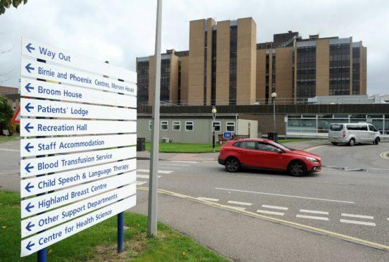 Raigmore Hospital, Inverness.