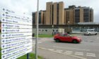 Raigmore Hospital, Inverness.