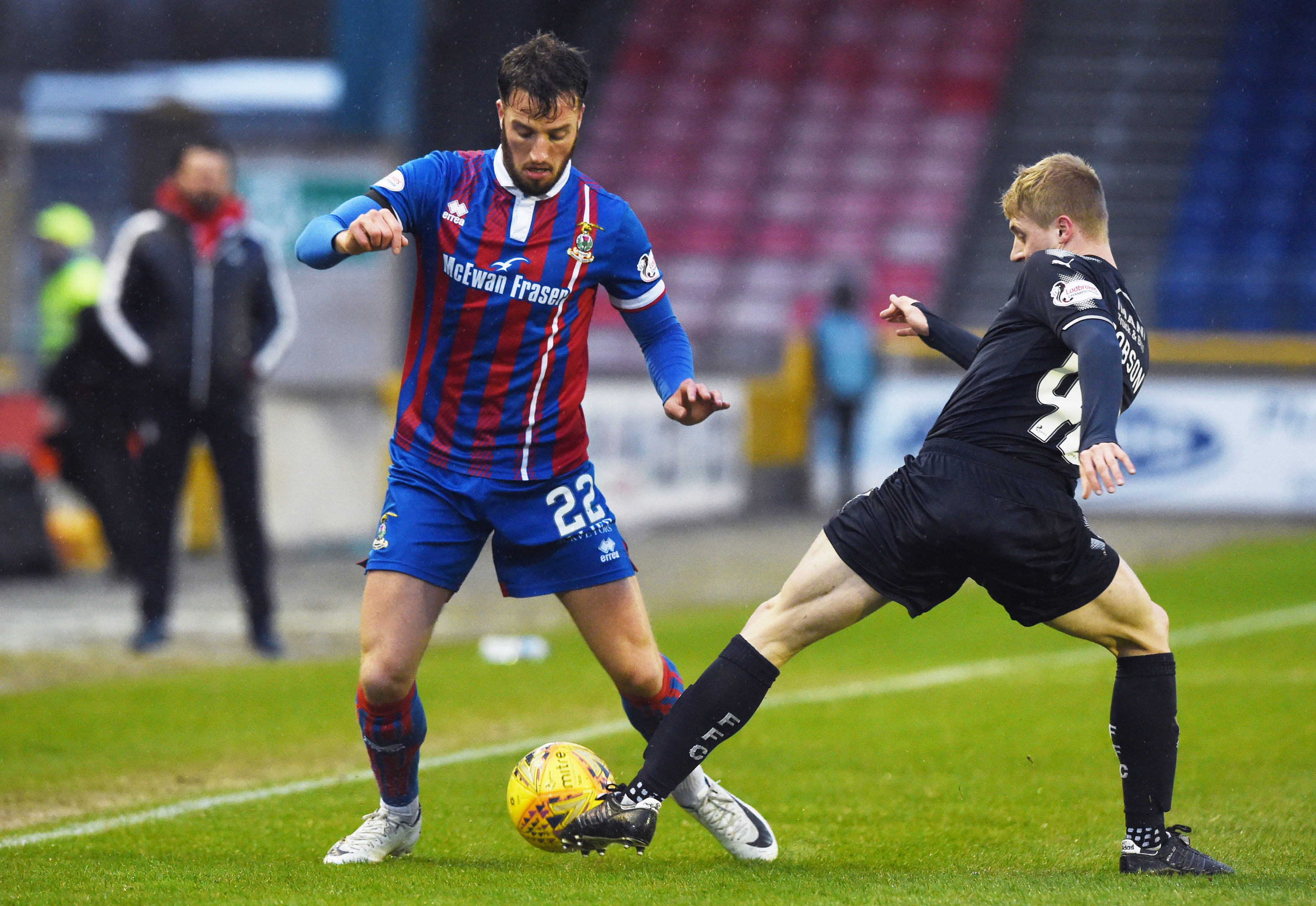 Brad Mckay says Caley Thistle players benefit from John Robertson's trust.