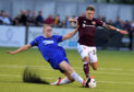 Hearts fielded an ineligible player in their win at Cove Rangers