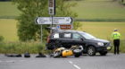 RTC on the A947 near Oldmeldrum. 08/07/18. Picture by KATH FLANNERY