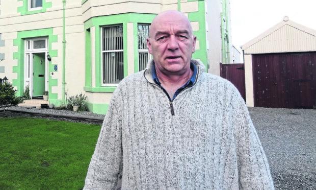 Stornoway guest house operator Derek Mcpherson