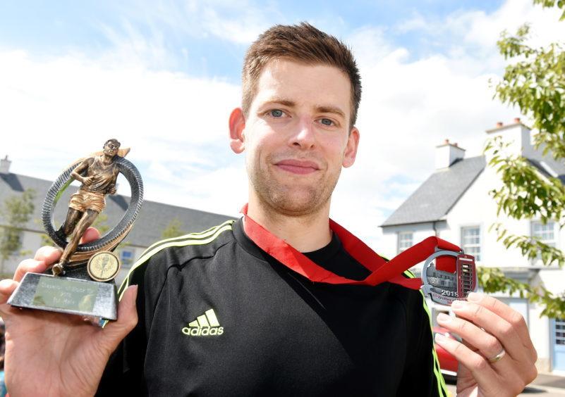 Winner Cameron Strachan