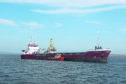 The cargo vessel MV Priscilla