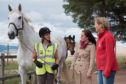 Kate Forbes MSP met with Black Isle horse riders to discuss safety measures in August