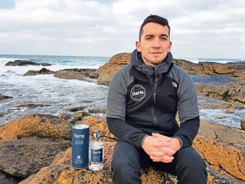 Michael Morrison of the Isle of Barra Distillers company
