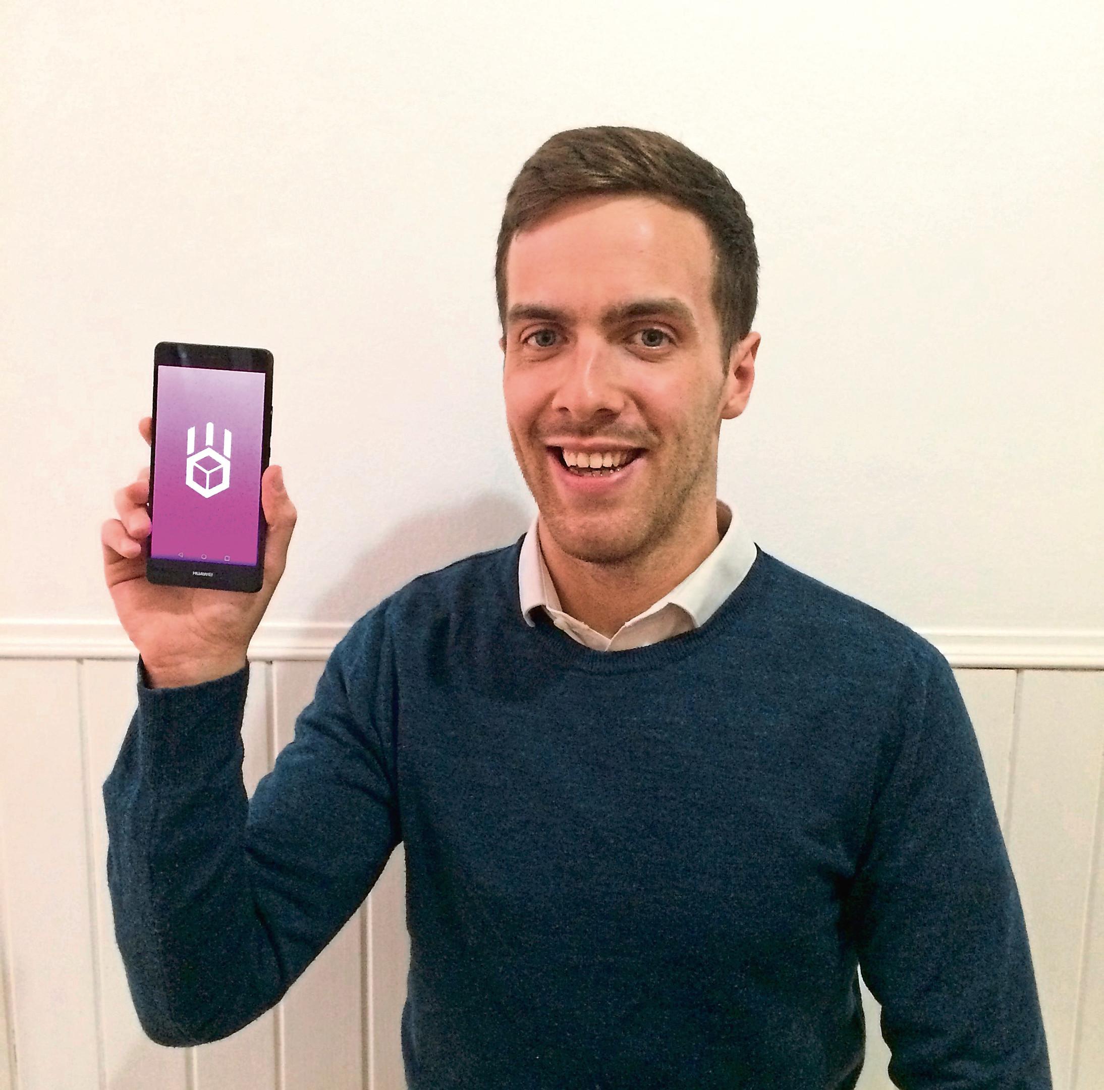 App developer Callum Morrison.