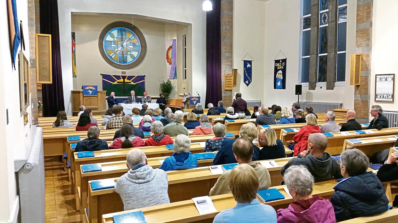 The last meeting concerning the future of Garthdee Parish Church