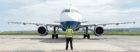 A Heathrow bound British Airways Aircraft at Inverness airport.