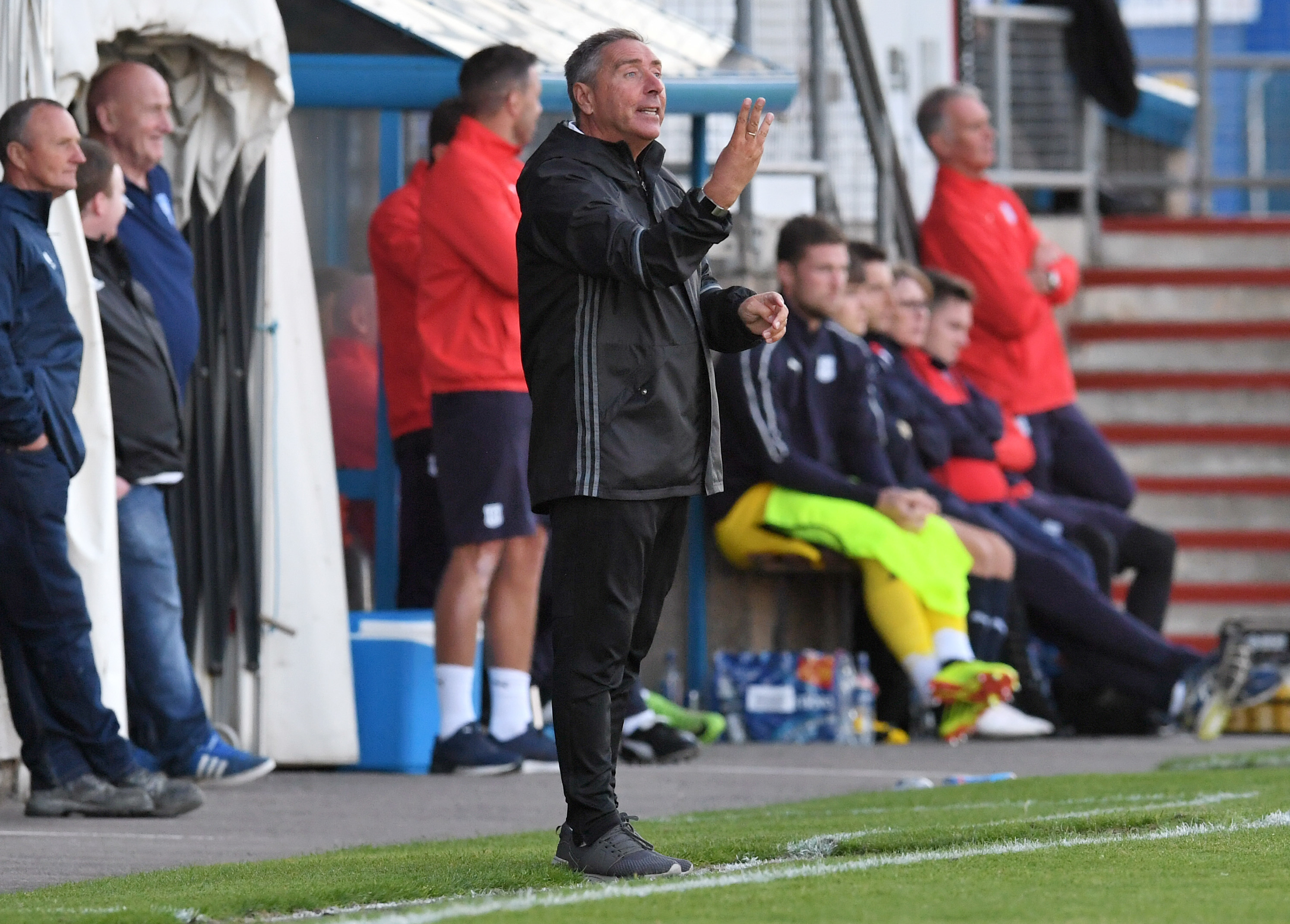 Jim McInally's Peterhead are in the sights of title-chasing Clyde.