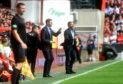 Steven Gerrard felt the world was against Rangers during their 1-1 draw with Aberdeen.