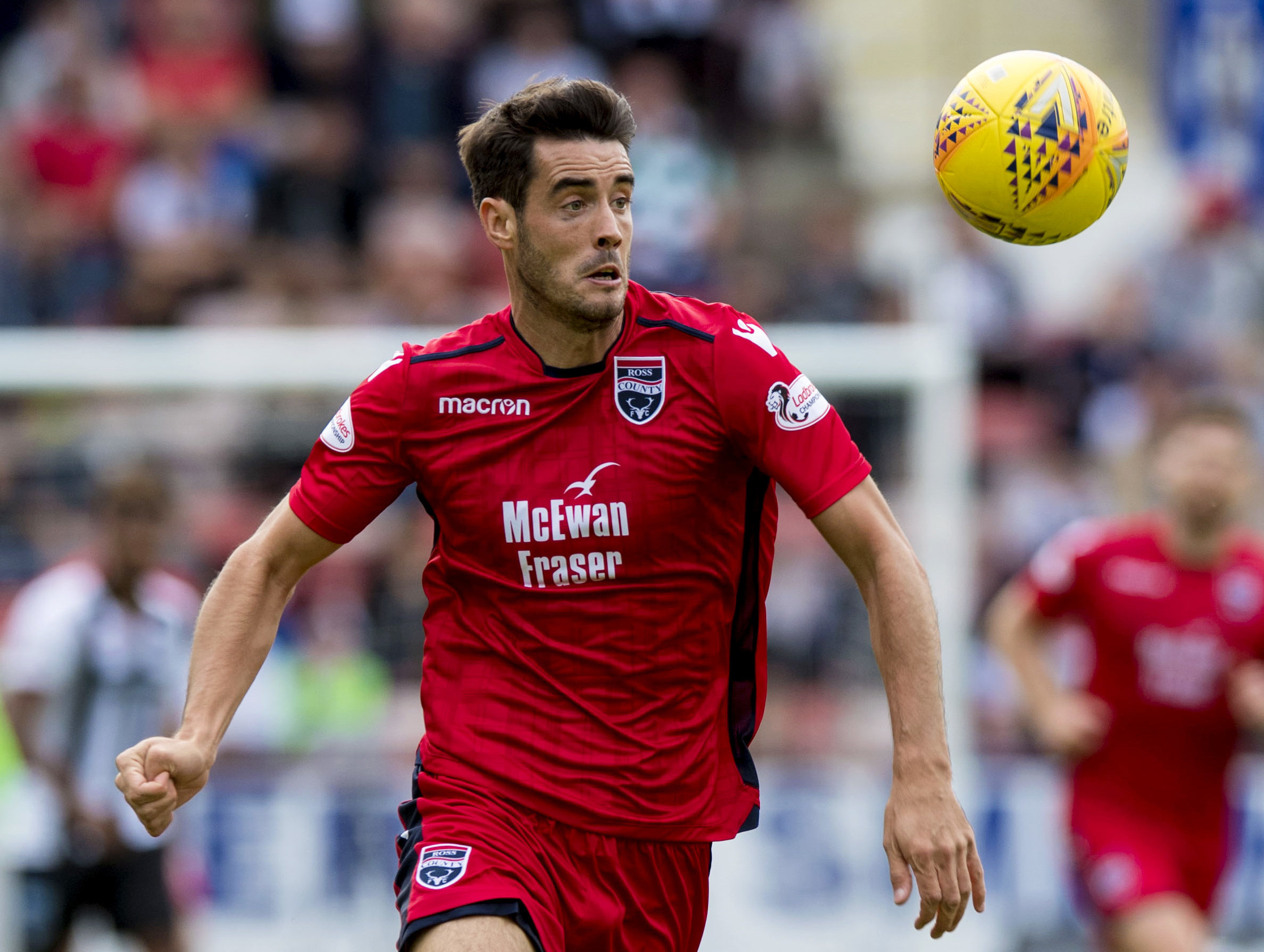 Brian Graham netted four goals for Ross County.