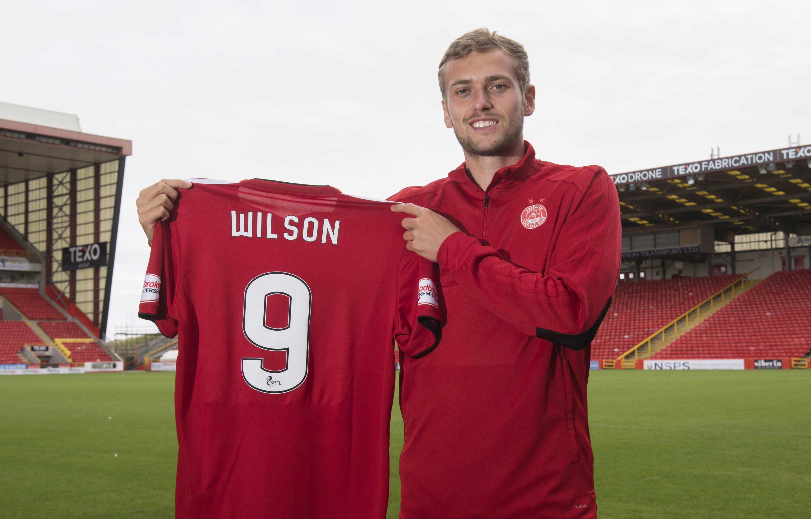 James Wilson faces a big season on loan at Aberdeen.