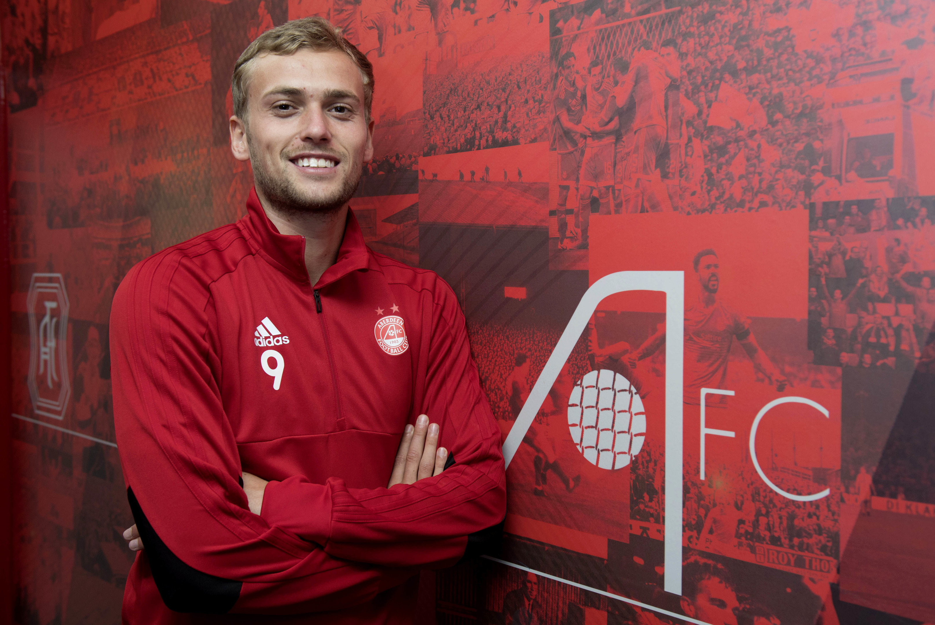 James Wilson netted for the Dons against Hamilton on Wednesday.