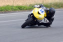Insch rider Sam Munro has long-term aims of riding in the British Superbike Championship. Picture: Jennifer Charlton.