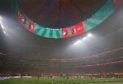 Mercedes-Benz Stadium, the impressive home of Atlanta United.