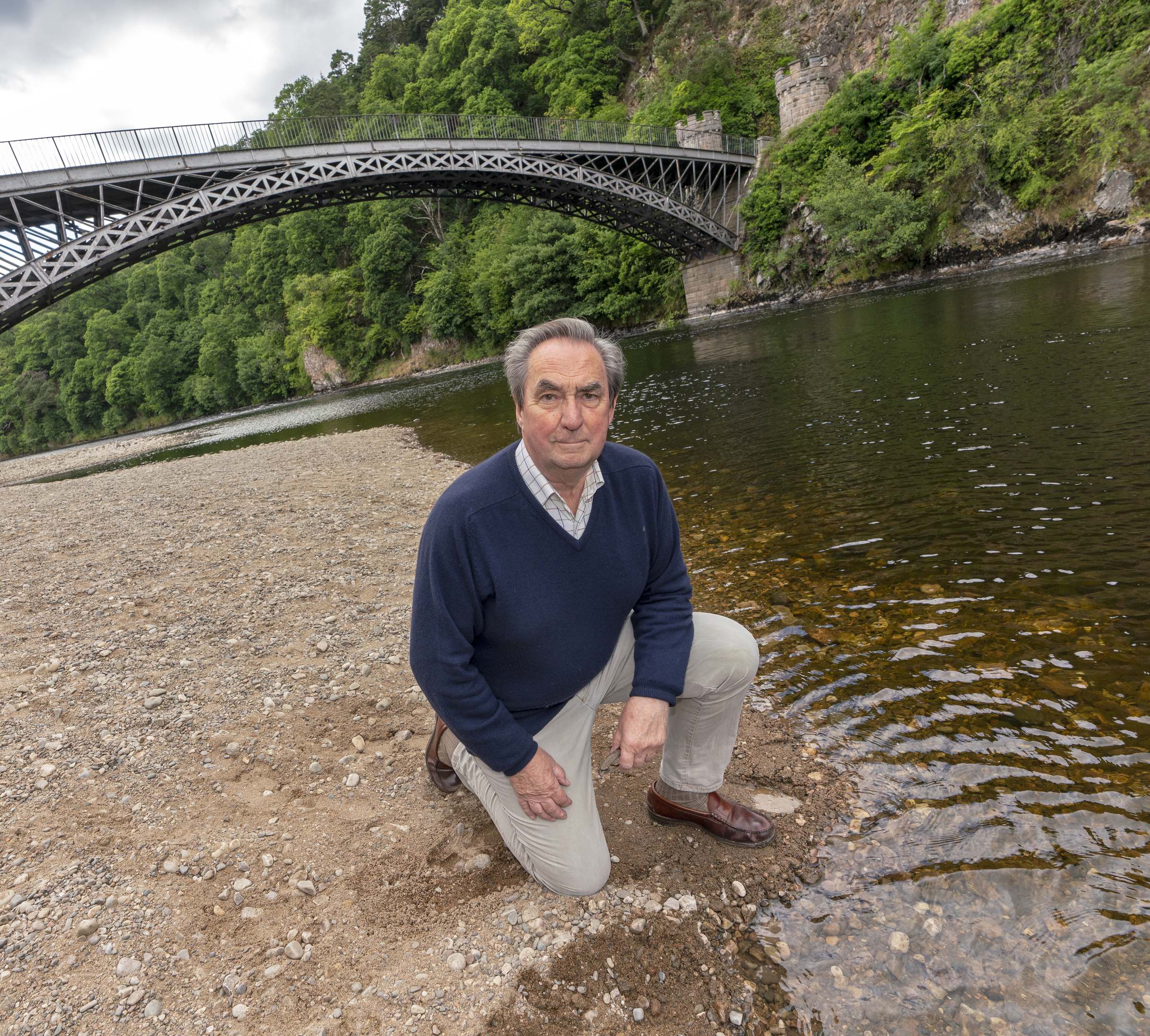 Brian Doran, chairman of the Spey Fishery Board.