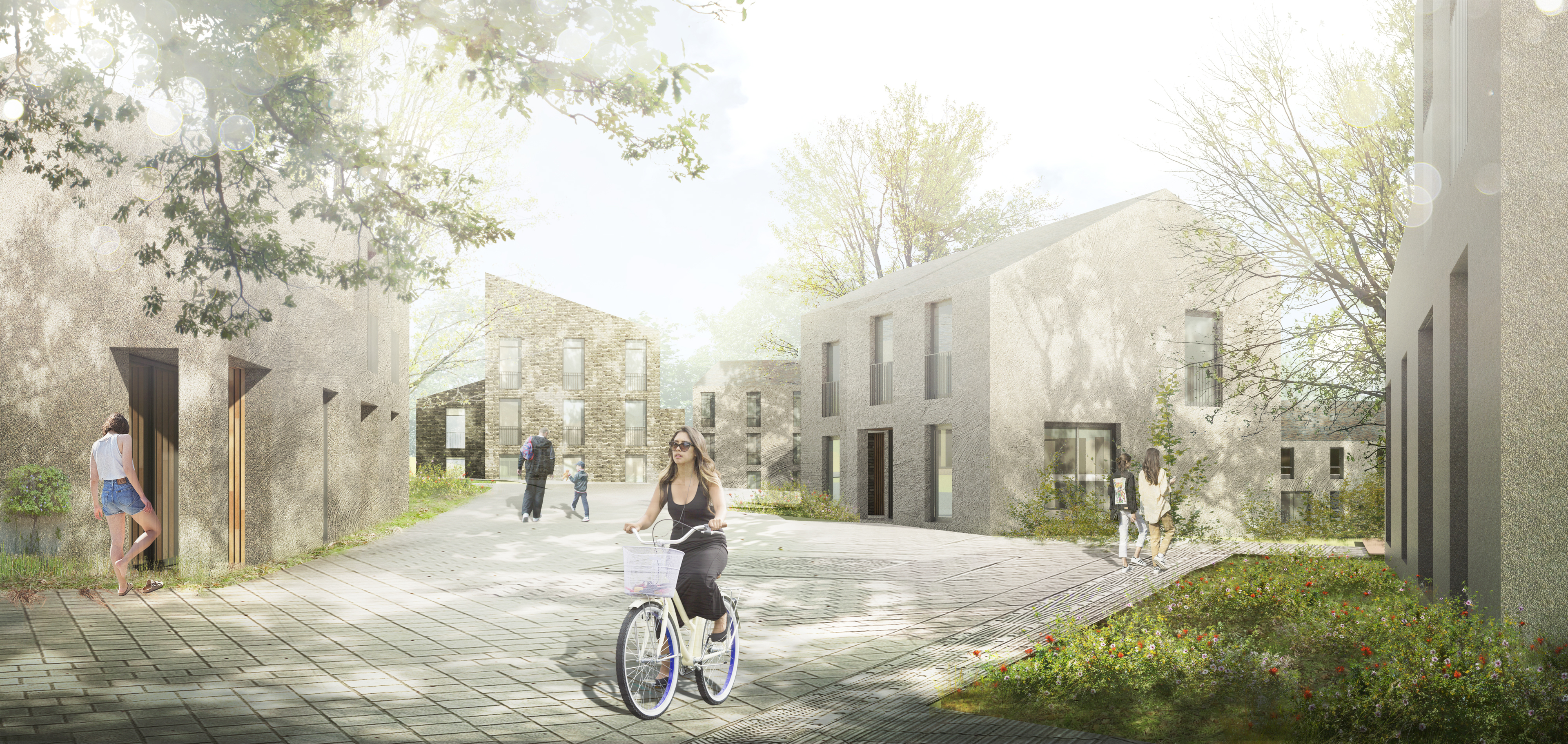 An artist's impression of how the 300 house development at Dunbeg, near Oban could look once it has been completed.