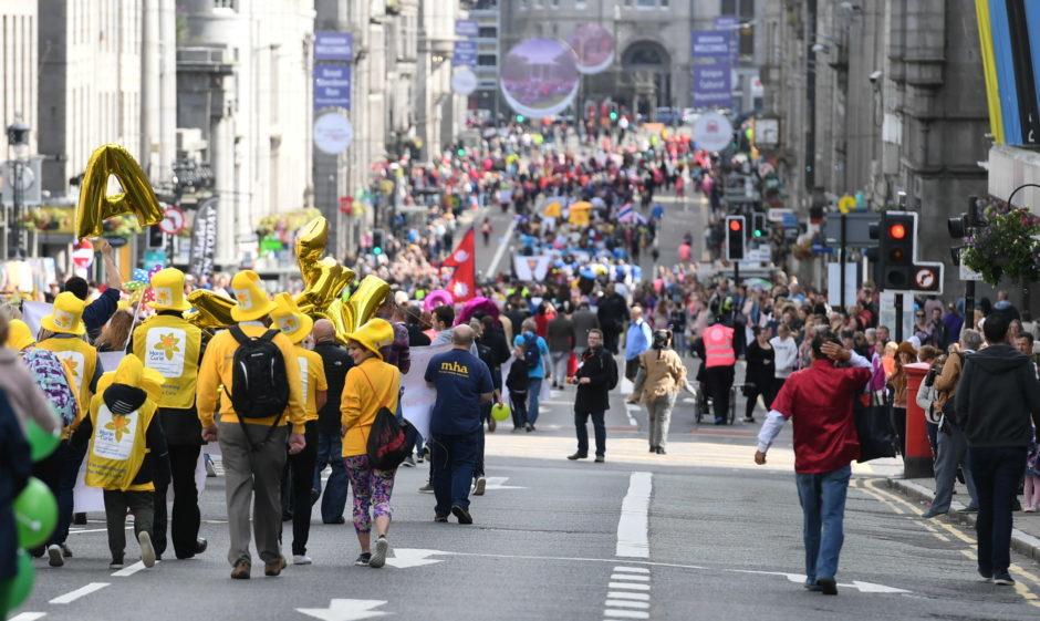 Celebrate Aberdeen parade