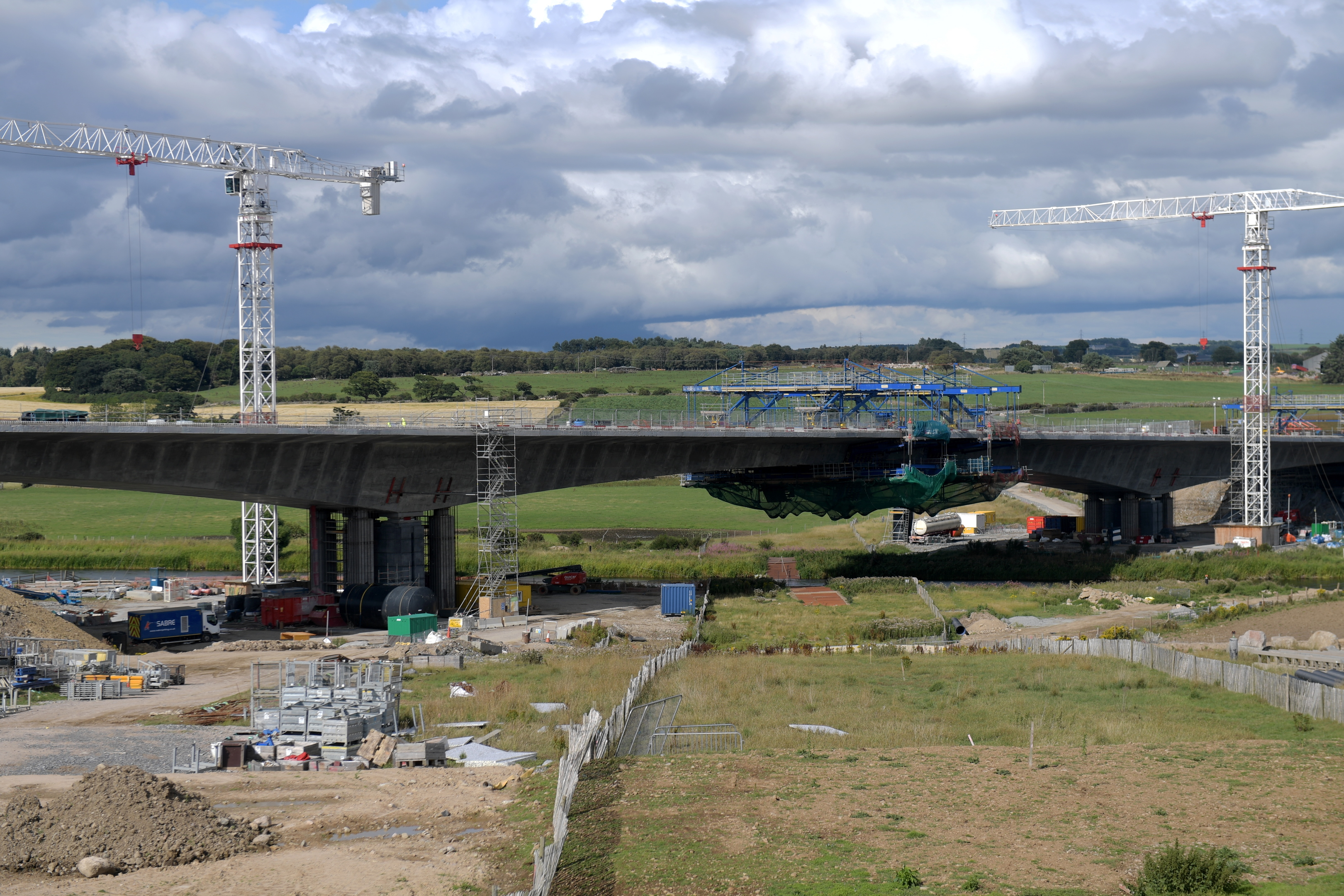 Repairs will be carried out on the AWPR bridge over the River Don at Dyce (Picture: Kath Flannery)