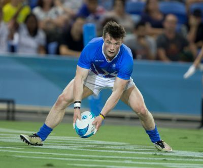 George Horne in action for Scotland at the 2018 Commonwealth Games.   Picture by Jeff Holmes