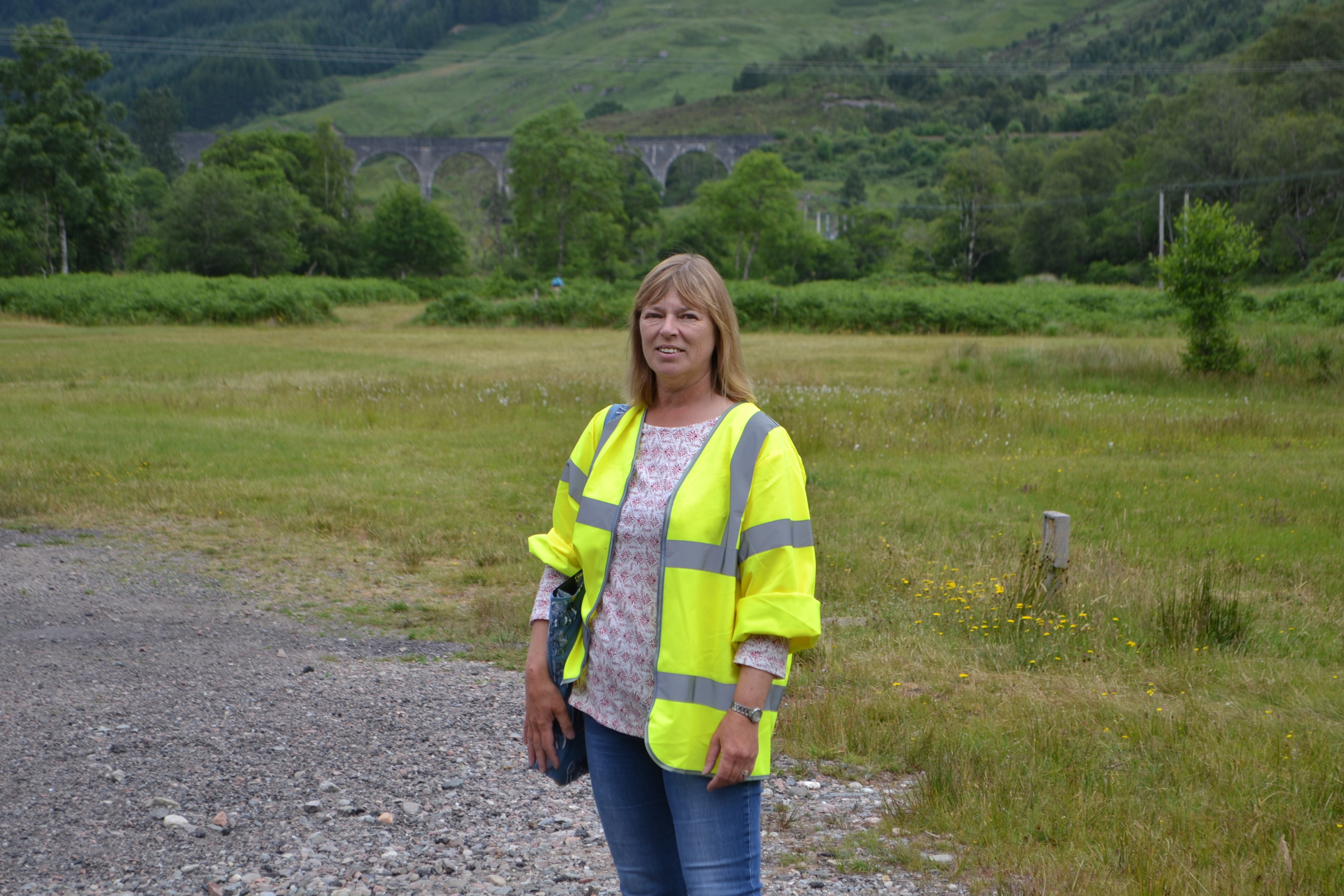 Fiona Gibson has campaigned as part of the community council, which is currently in abeyance, for a reduced speed limit