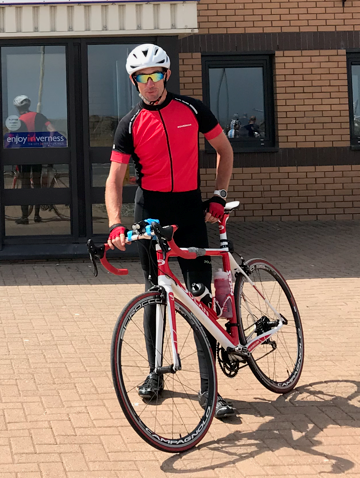James MacInnes is to embark on a cycling challenge of around 500 miles in Zambia