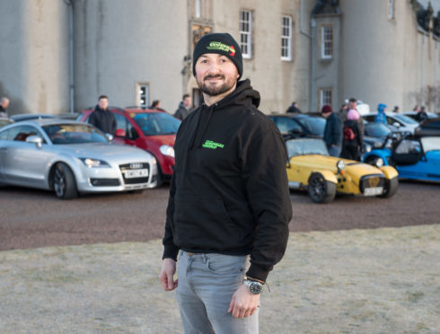 Cannonbawz Run organiser Kris O'Neill is a flight paramedic for the Scottish Air Ambulance Charity.