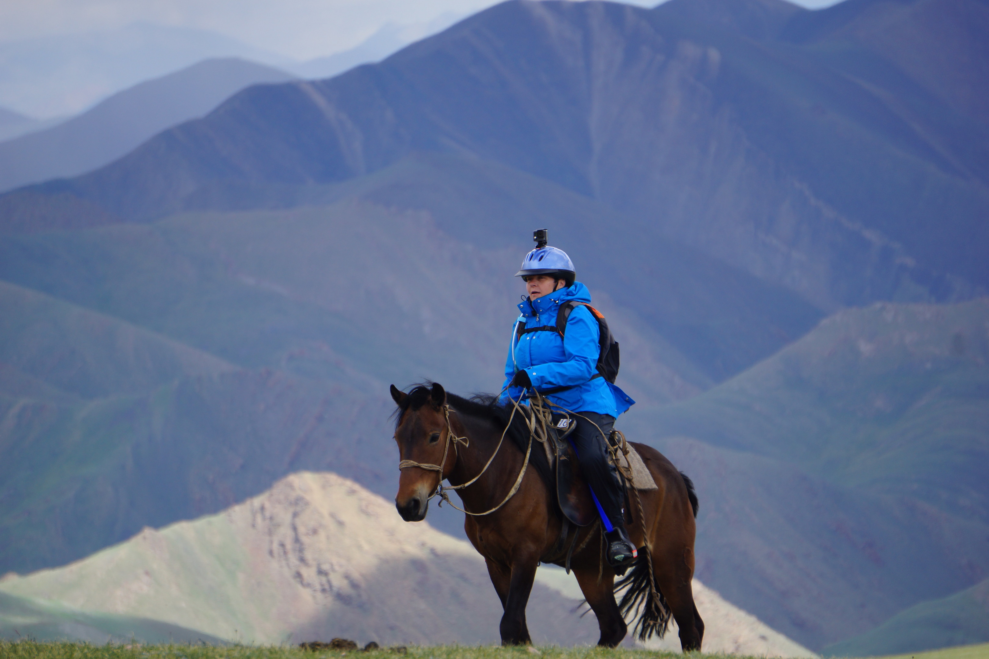 Judith Barker embarked upon a horseback adventure through the mountains of Mongolia