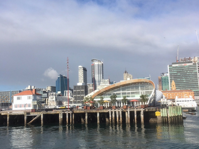 New Zealand - Auckland Harbour