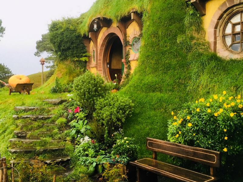 New Zealand - Hobbiton Bag End