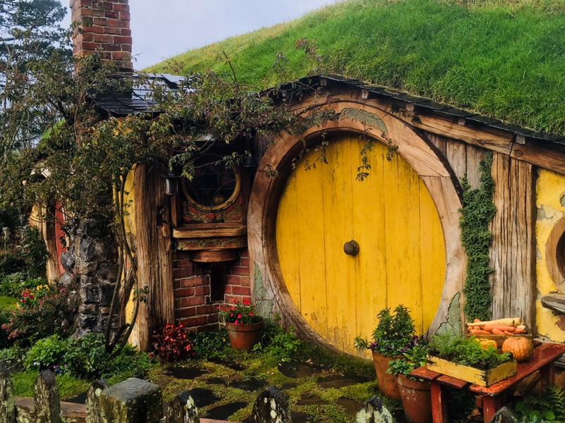New Zealand - Hobbiton Samwise Gamgee's Home