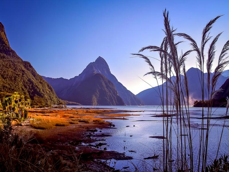 New Zealand - Off on an adventure