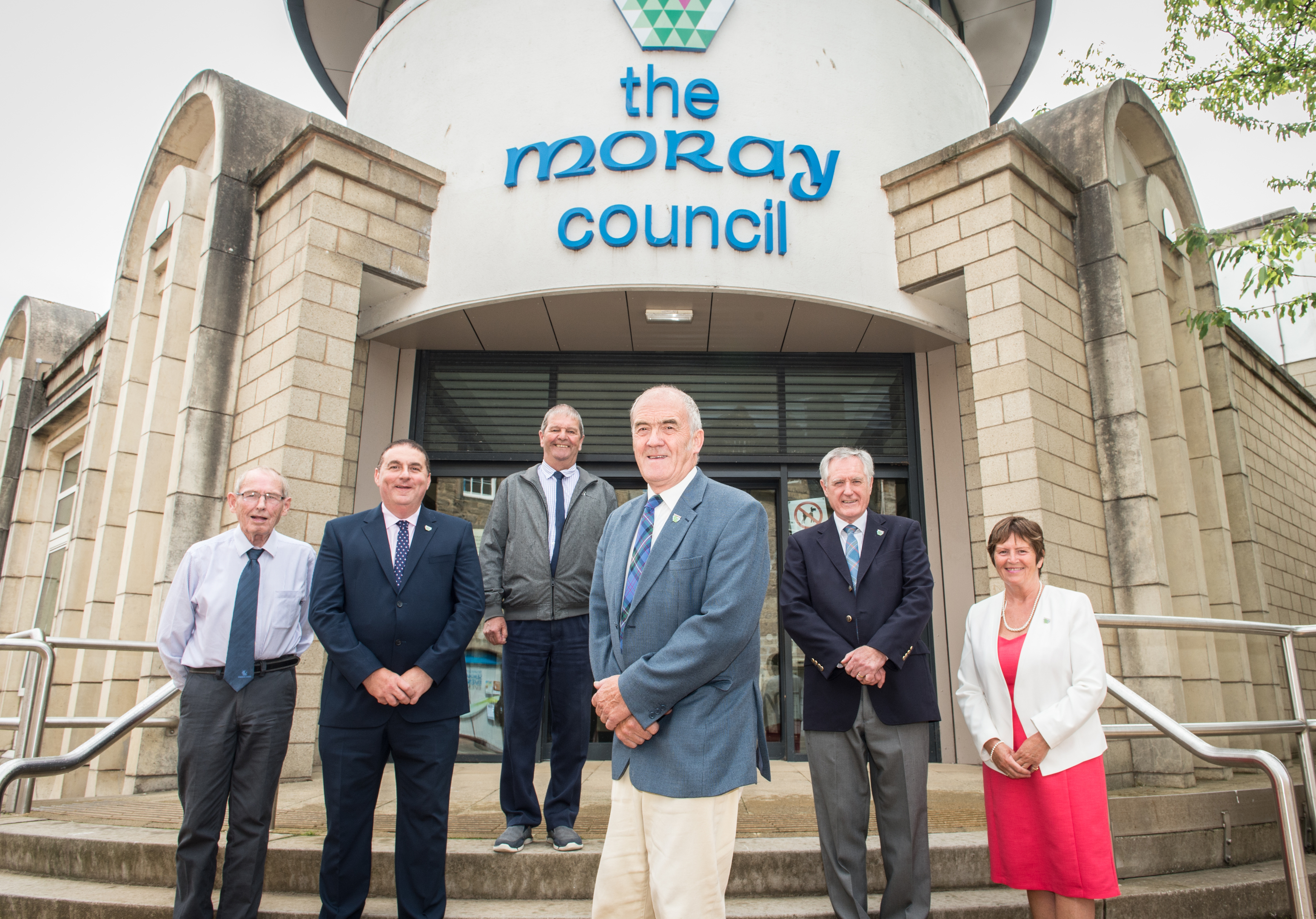 Ronald Shepherd, James Allan, Gordon Cowie George Alexander (Lead Councillor of the Group), John Cowe, Lorna Creswell