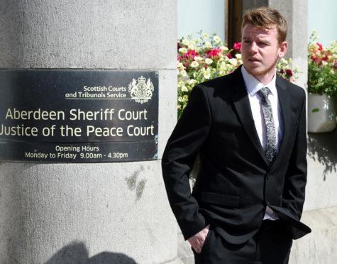 Daniel Cator was sentenced at Aberdeen Sheriff Court.