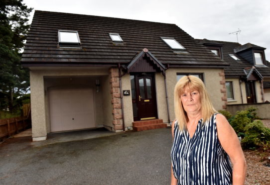Kintore woman claims she could be left homeless in factor dispute. Picture by Scott Baxter