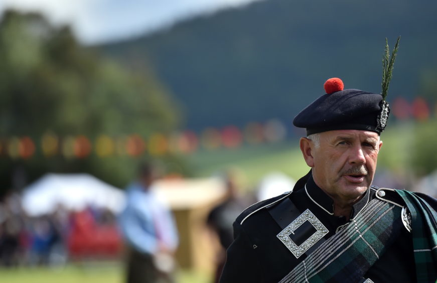 Lonach Gathering, Strathdon, Aberdeenshire, 25th August 2018.