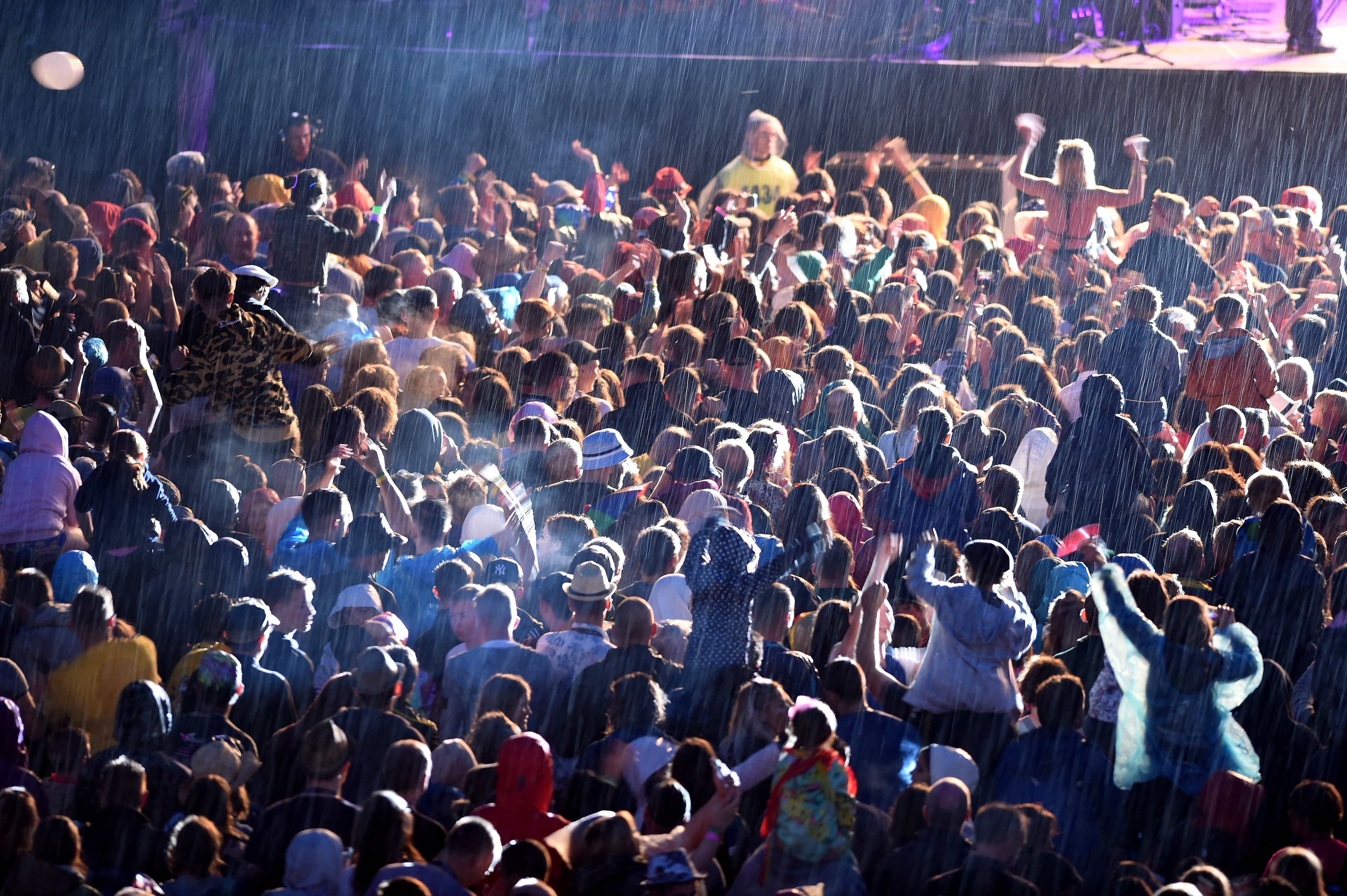 Belladrum fans enjoying the festival in 2018. Picture by Sandy McCook.