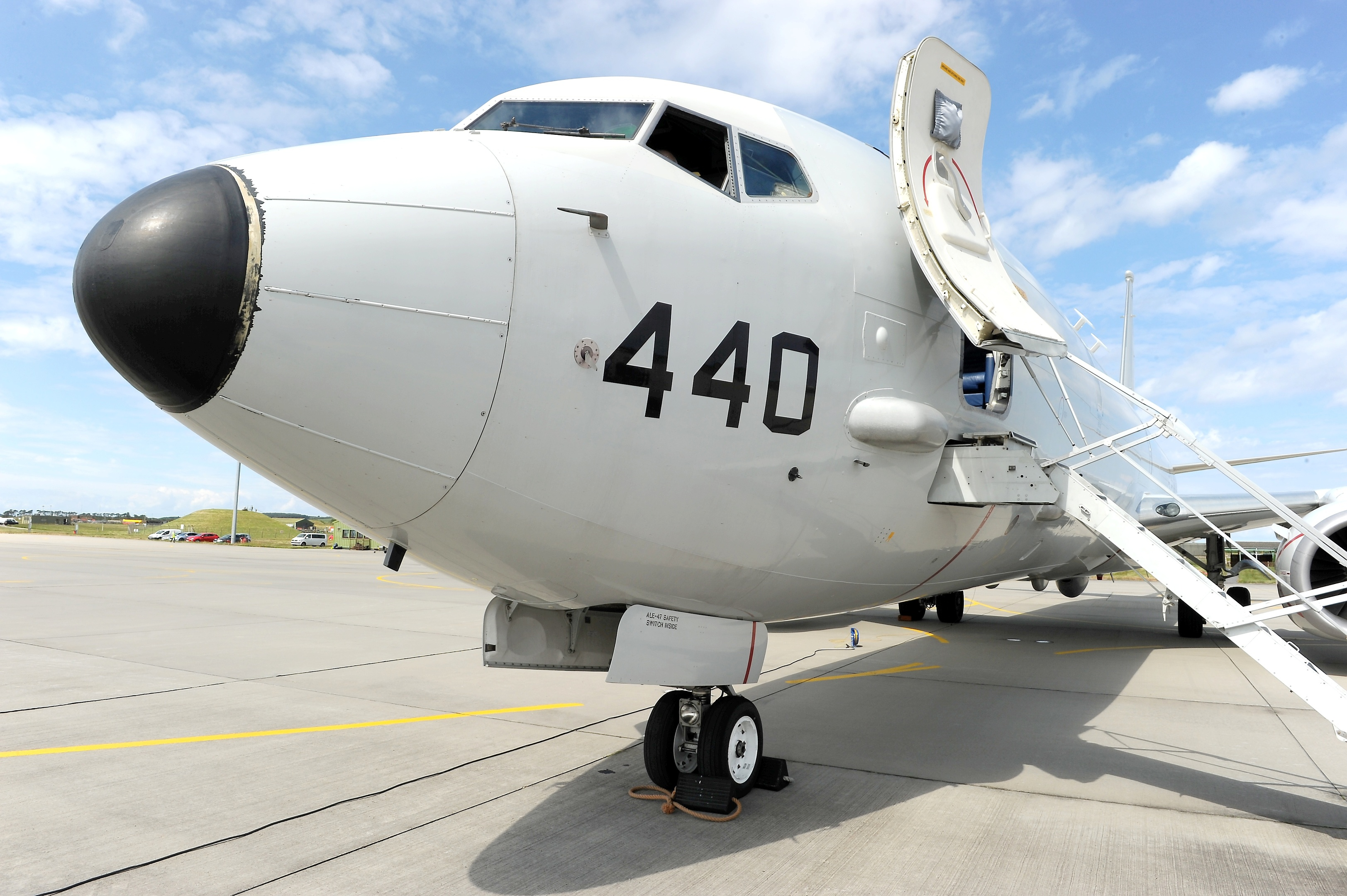 Nine RAF Poseidon P-8 aircraft will be based at Lossiemouth